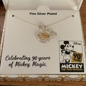 90th Celebration Mickey Mouse necklace.